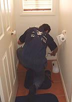 Toilet and tap repairs